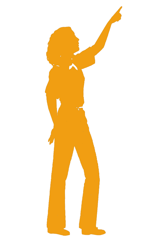 Girl Scout Ambassador silhouette