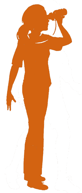 Girl Scout Senior silhouette