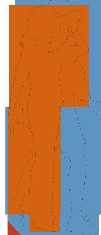 Girl Scout Senior silhouette