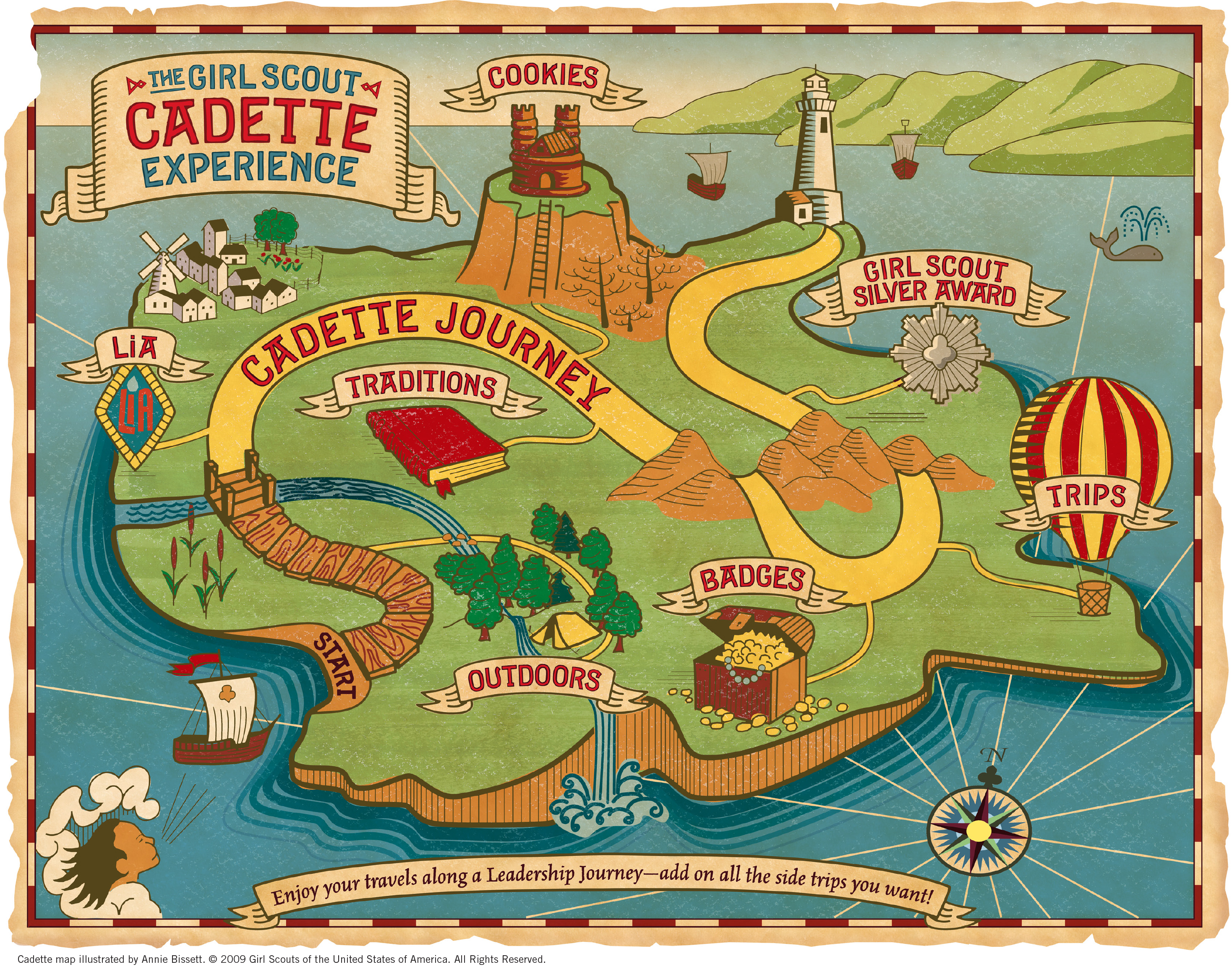 Cadette Journey Map