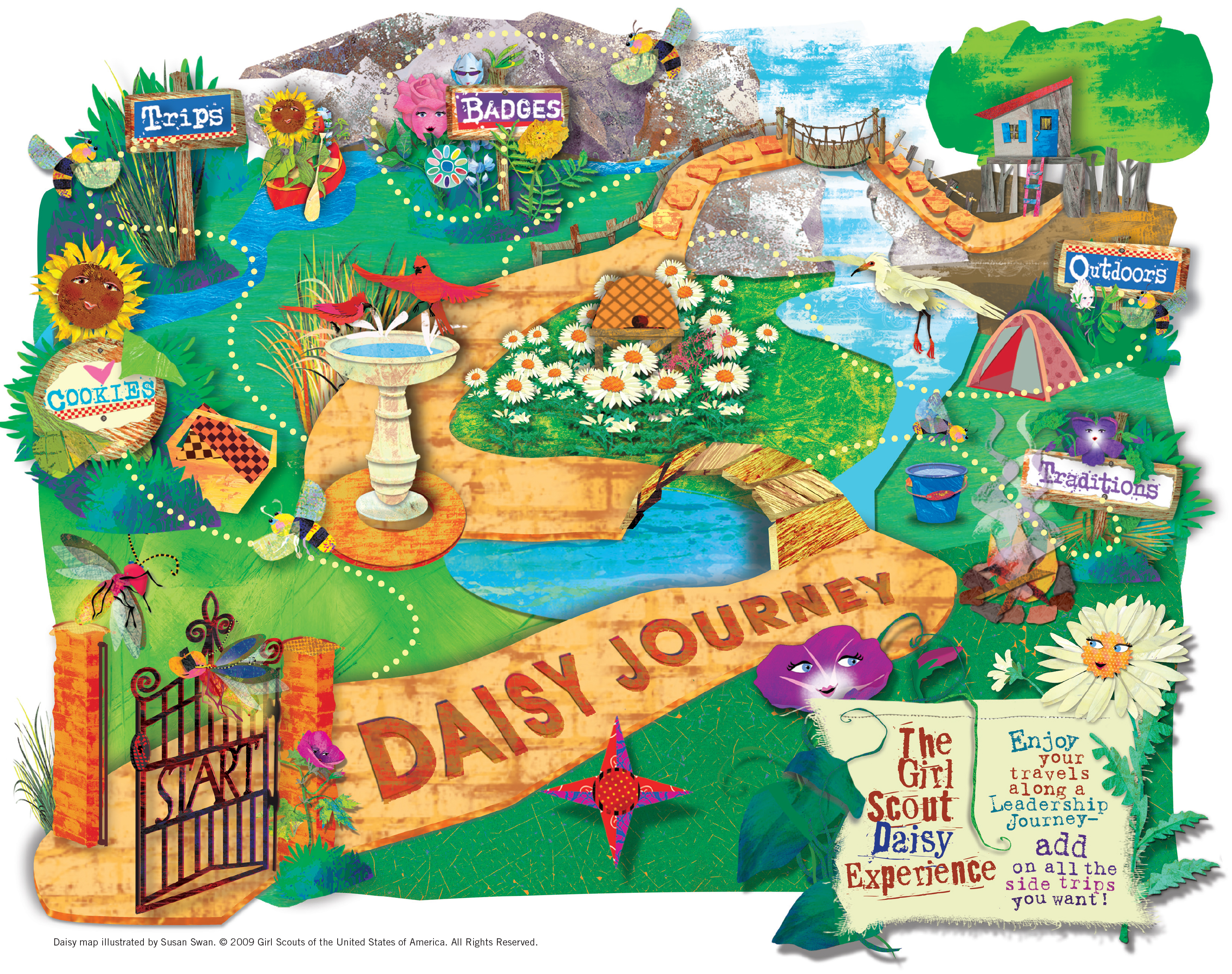 Daisy Journey Map