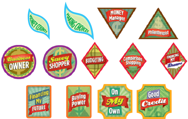 financial literacy badges