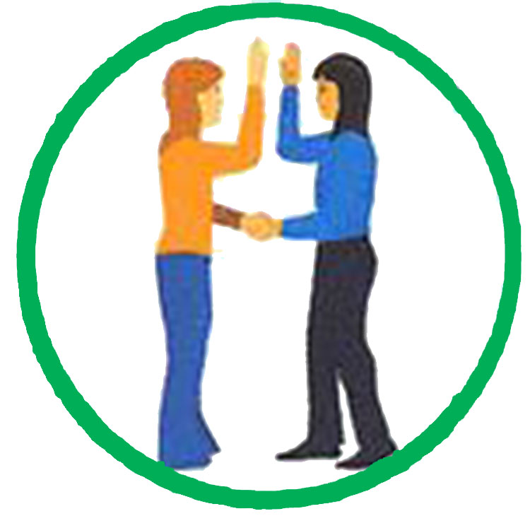Girl Scout handshake