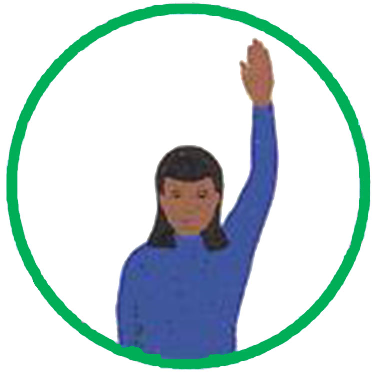 Girl Scout Quiet Sign