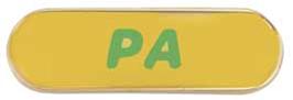 Program Aide pin