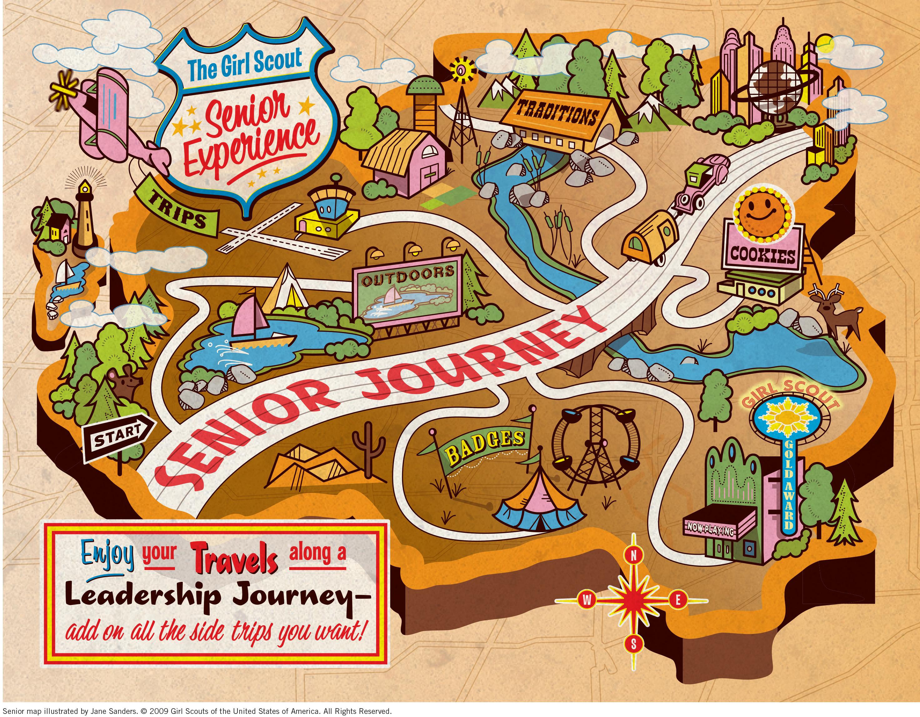 Senior Journey Map