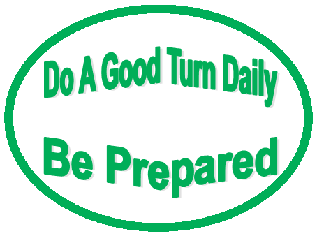 Do A Good Turn Daily  Be Prepared