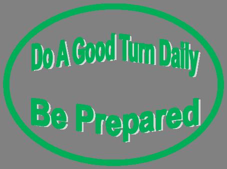 Do A Good Turn Daily  Be Prepared