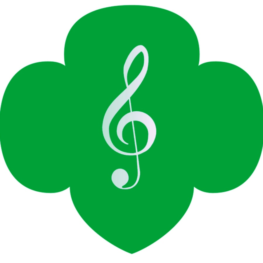 trefoil with treble clef
