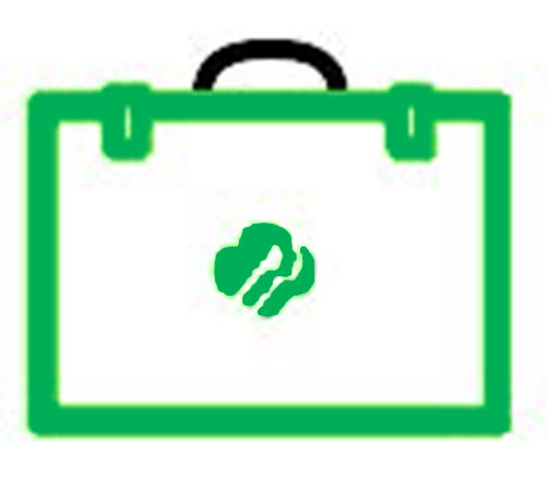 Girl Scout briefcase